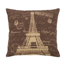 Paris Eiffel Tower Theme Pillow