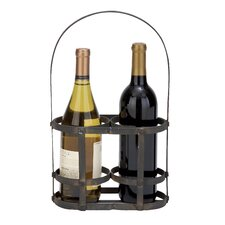 2 Bottle Tabletop Wine Basket