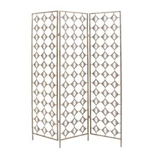 Metal Mirror Screen Room Divider