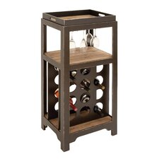 12 Bottle Tabletop Wine Cabinet
