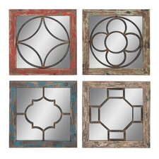 4 Piece Mirror Set