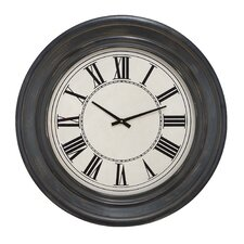 Wall Clock with Roman Numerals
