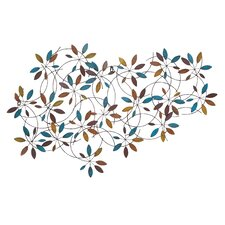 Classic Metal Leaf Wall Decor