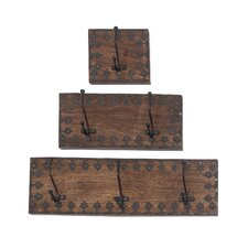 3 Piece Dublin Coat Rack Set