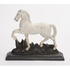 Polystone Trotting Horse Showpiece