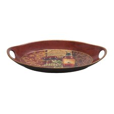 Hawaiian Chi-Chui Decor Ceramic Serving Tray