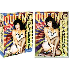Bettie Page Pinups Jigsaw Puzzle