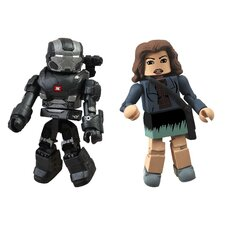 Marvel Minimates Series 49: War Machine and Maya Hansen (Set of 2)