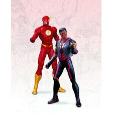 DC The New 52 2 Piece Flash Vs. Vibe Action Figure Set