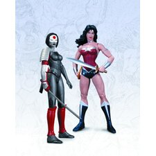 DC The New 52 Wonder Woman Vs Katana Action Figure Set