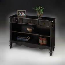 Artist's Originals Bookcase in Plum Black Finish