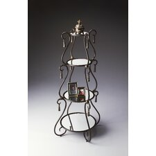 Metalworks Etagere in Distressed Dark Pewter