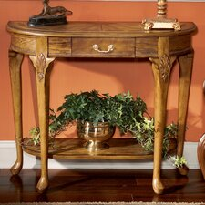Vintage Oak Console Table