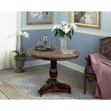 Heritage Pedestal Console Table