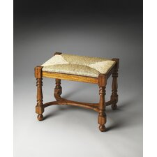 Masterpiece Milton Solid Wood Entryway Bench