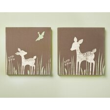 Willow Canvas 2 Piece Wall Art