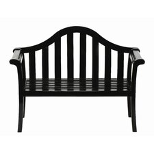 Camelback Entryway Wood Garden Bench