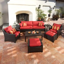 Cantina 8 Piece Deep Seating Group with Cushions