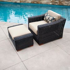 Resort Club Chair and Ottoman