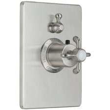 Humboldt StyleTherm Single Volume Control Square Shower Trim