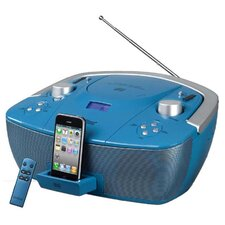 Hamilton Boom Box for iPod, CD, USB, SD Card, MP3
