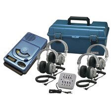 4 Person CD / MP3 Listening Center with Deluxe Headphones