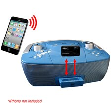 iDock Boom Box and Bluetooth Wireless Receiver