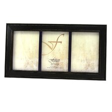 Fashion Woods Longwood Triple Picture Frame