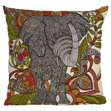 Valentina Ramos Bo The Elephant Polyester Throw Pillow