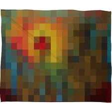 Madart Inc. Glorious Colors Polyester Fleece Throw Blanket