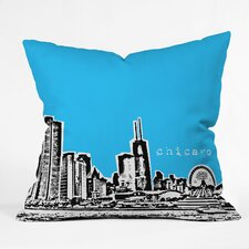 Bird Ave Chicago Indoor/Outdoor Polyester Throw Pillow