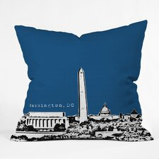 Bird Ave Washington Indoor/Outdoor Polyester Throw Pillow