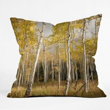 Bird Wanna Whistle Aspen Indoor/Outdoor Polyester Throw Pillow