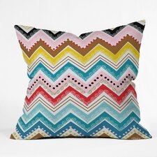Khristian A Howell Nolita Chevrons Woven Polyester Throw Pillow