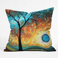 Madart Inc Burn Indoor / Outdoor Polyester Throw Pillow