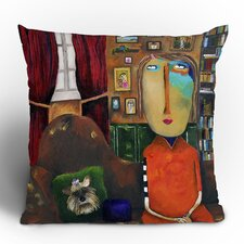 Robin Faye Gates with Bebe Polyester Throw Pillow