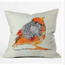 Iveta Abolina Bird Woven Polyester Throw Pillow