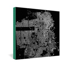 CityFabric Inc San Francisco Gallery Wrapped Canvas