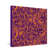 Wagner Campelo Abstract Garden 1 Gallery Wrapped Canvas
