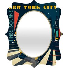 Anderson Design Group NYC Times Square Quatrefoil Mirror