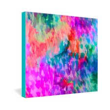 Amy Sia Leopard Gallery Wrapped Canvas