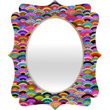 Fimbis A Good Day Quatrefoil Mirror