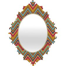 Amy Sia Tribal Chevron Baroque Mirror