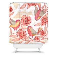 Cori Dantini Woven Polyester Sprinkling Sound Shower Curtain