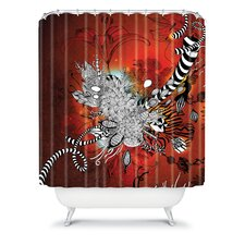 Iveta Abolina Polyester Wild Lilly Shower Curtain