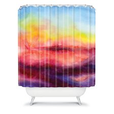 Jacqueline Maldonado Woven Polyester Kiss of Life Shower Curtain