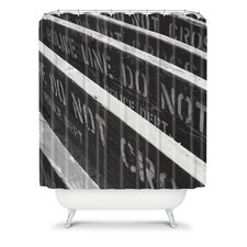 Leonidas Oxby Woven polyester 7 Chances Do Ya Feel Lucky Shower Curtain