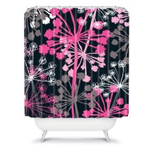 Rachael Taylor Polyester Cow Parsley Shower Curtain
