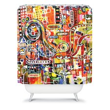 Robin Faye Gates Polyester It Came from Detroit Shower Curtain