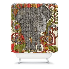 Valentina Ramos Polyester Bo The Elephant Shower Curtain
